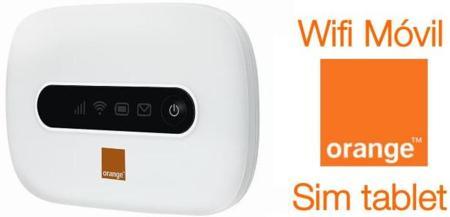 Orange lanza sus nuevas tarifas WiFi Móvil y Sim tablet