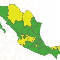 El verde inunda a México en el semáforo COVID: ya son dos tercios del país los que están en riesgo mínimo de contagio