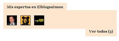 Página de usuario en El Blog Salmón (II)
