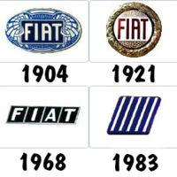 Logos de coches: Fiat y los continuos cambios