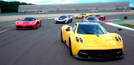 Vídeo: ¡Ensalada de hiperdeportivos! Los coches más deseados del planeta se dan cita en Assen