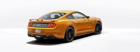 Ford Mustang V8 Gt Performace Pack Orange Fury
