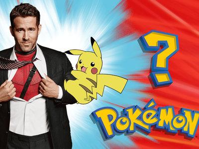 Ryan 'Deadpool' Reynolds será la voz de Pikachu en la película de acción real de Pokémon
