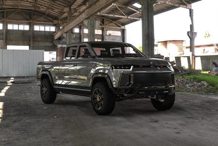 Este prototipo de pick-up se llama Atlis XT y es 100% eléctrico, con hasta 800 kilómetros de autonomía