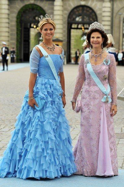 Boda de la Princesa Victoria de Suecia: Madeleine y Reina