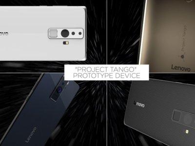 El primer smartphone de Project Tango va a ser un phablet muy grande
