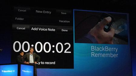 Blackberry Remember
