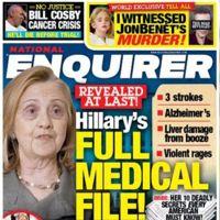 La peor cara de Hillary Clinton
