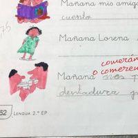 La respuesta de una niña gaditana en un examen se vuelve viral 10 años después