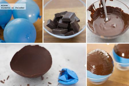 Cuencos de chocolate fundido - 2