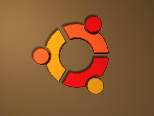 ubuntu-3D-logotipo