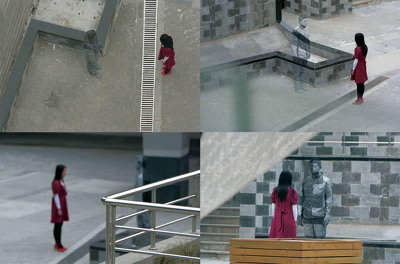 Hiding in the City: el hombre invisible. Liu Bolin