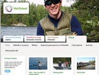 Finlandia: el portal de turismo lanza apartado destinado a los amantes de la pesca