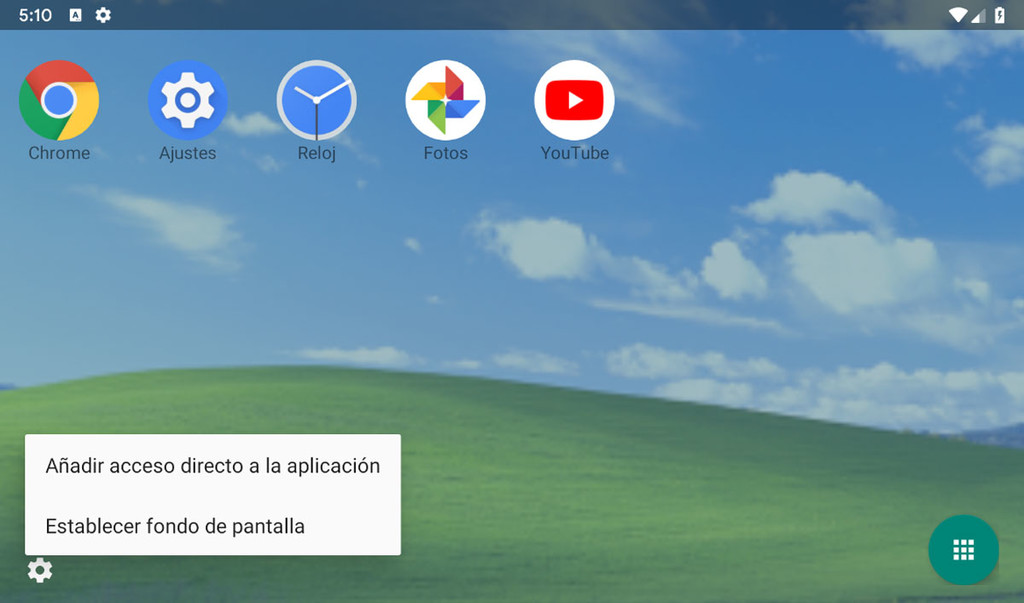 we Tested the desktop mode for Android Q: is very green
