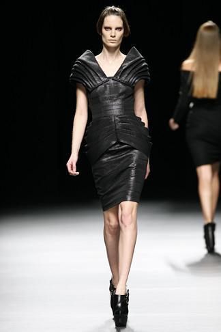 juanjo vestido negro