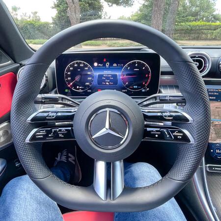 Mercedes Clase C Prueba Contacto Volante