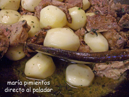 mareamos costillas y patatas