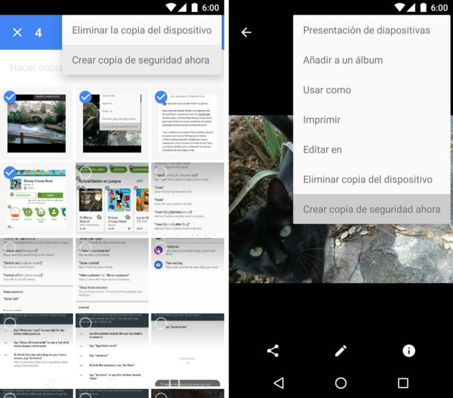 Google Fotos Copia Seguridad Ahora