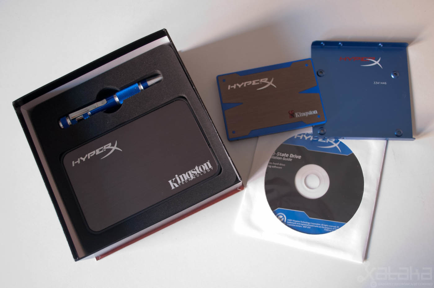 Foto de iKngston HyperX SSD, análisis (3/11)