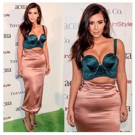 El día que Kim Kardashian salió de casa sin su faja y a lo loco