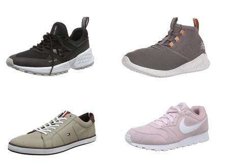 Chollos en tallas sueltas de zapatillas New Balance, Nike y