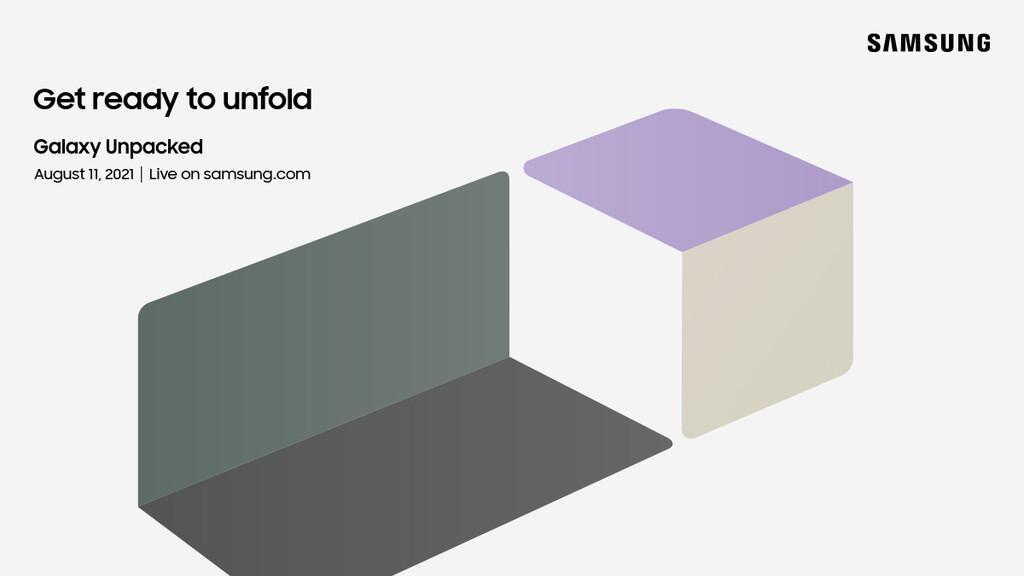Confirmado: el próximo Samsung Unpacked para dar a conocer sus próximos dispositivos plegables será en agosto