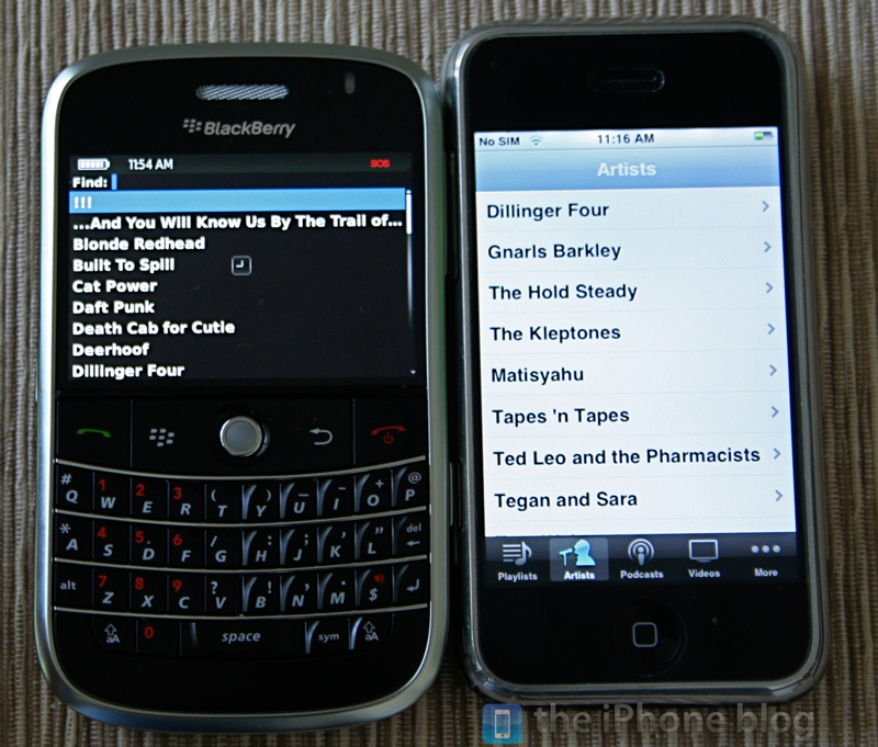 Foto de BlackBerry Bold vs iPhone (17/17)
