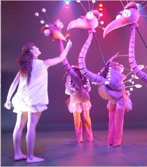 Aracaladanza, teatro y danza para niños