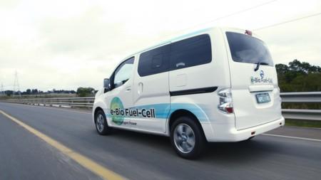 Nissan ya rueda con un prototipo de pila de combustible alimentada con bioetanol
