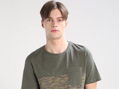 60% de descuento en la camiseta de Jack & Jones jorbak Slim fit en marrón: ahora sólo 5,95 euros en Zalando
