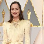 Dakota Johnson demasiado recatada en los Oscar 2017