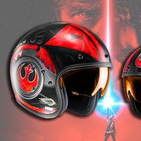 Frikismo nivel: HJC FG-70 Poe Dameron, el casco perfecto para el estreno de 'Star Wars: Los Últimos Jedi'