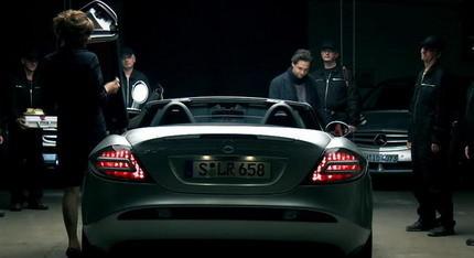 Cortometraje promocional de Mercedes con publicidad interactiva