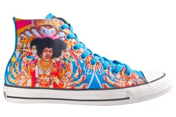 Foto de Converse de Jimi Hendrix (1/3)