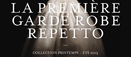 Repetto viste sus bailarinas lanzando la primera Colección Prêt-à-Porter P/V-2013