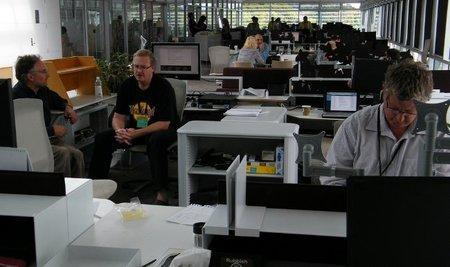 Usuarios avanzados que usan el equipo de trabajo como si fuera propio