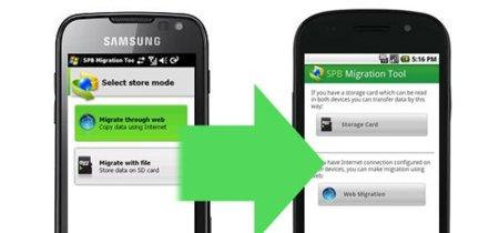 SPB Migration Tool, o cómo pasar fácilmente tus datos de Symbian o Windows Mobile a Android