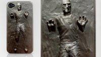 Steve Jobs congelado en carbonita, la carcasa definitiva para tu iPhone rebelde