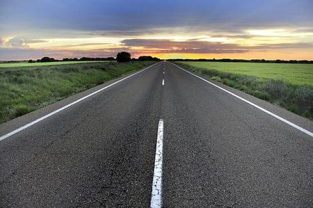 Verifica el estado de las carreteras antes de partir