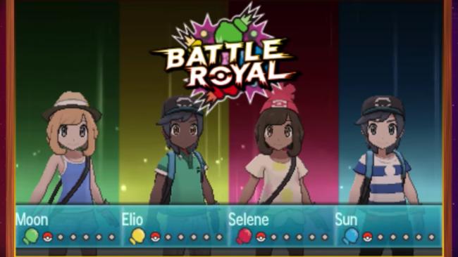 Pokemon Sol Luna Battle Royale