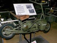 Welbike, un scooter paracaidista de la Segunda Guerra Mundial