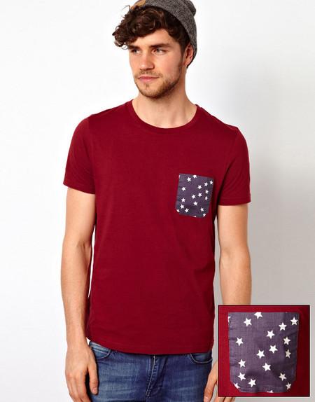 Camiseta bolsillo asos