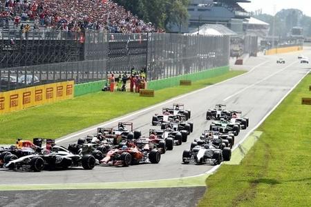 Lewis Hamilton no se saltó la salida del GP de Italia de pura chiripa