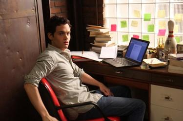 El escritorio de Dan de Gossip Girl