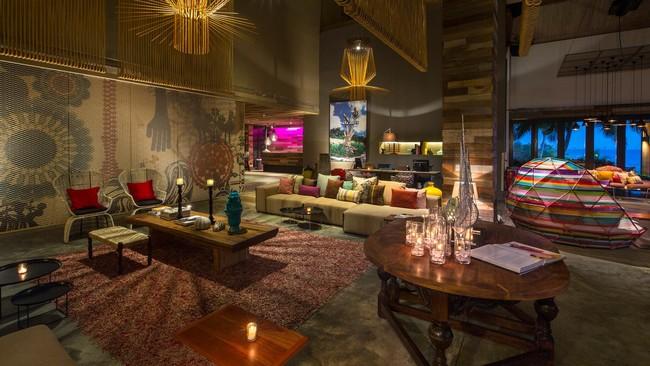 W Retreat Vieques Living Room