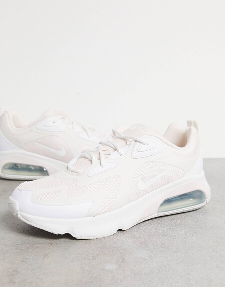 Zapatillas De Deporte Blancas Y Rosas Air Max 200 De Nike