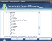 Messenger Content Recovery, haciendo copias de seguridad de tu Messenger
