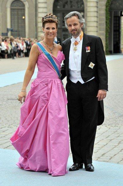 Boda de la Princesa Victoria de Suecia, ceremonia: Princesa Martha
