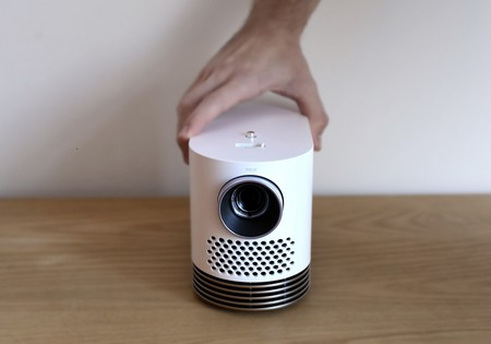 Ydray Hf80j, un proyector de LG realmente compacto y potente