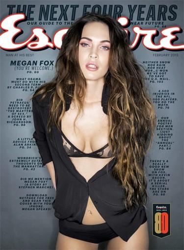 Megan Fox pasa de las sutilezas en Esquire, ¡toma canalón, cari!